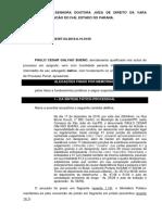 Memoriais - nulidade prova ilic., absolvição trafico