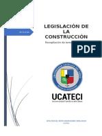 Legislación de la construcción  (Ucateci)