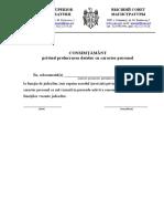 Consimtamant Privind -Prelucrarea Date Personale (1)