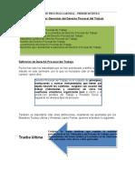 CLINICA DE DERECHO PROCESAL DEL TRABAJO