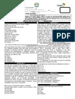 PROVA FILOSOFIA PRIMEIRA UNIDADE SEGUNDOS ANOS 2019 - 2 versão