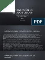 Intervención de estados unidos