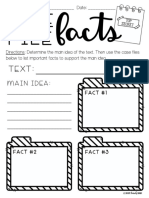 nonfiction writing responses to reading