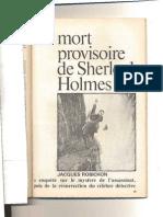 La Mort Provisoire de Sherlock Holmes