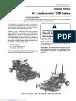 Groundsmaster 300 Series