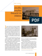 La inauguración del Hospital General de México