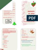 Programa de Actos de Navidad 2010