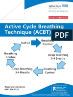 Active cycle breathing technique (ACBT) Jan 17