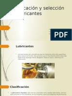 Clasificación y selección de lubricantes