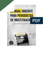 Manual de Periodismo de Investigación de Christian Sanz