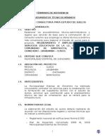 TDR  ESTUDIO DE SUELOS SIMA