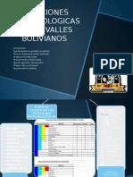 ESTACIONES METEOROLOGICAS DE LOS VALLES  BOLIVIANOS 1
