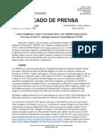2020.03.21 - CP 2019 Informe Libertad de Opinión (USCIRF), Sanciones OAR ES