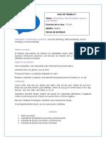 Guía de Trabajo 7 Inglés Abril 2020