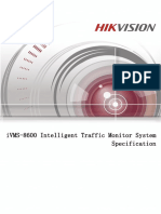 iVMS-8600_Intelligent_Traffic_Monitor_System_Specification