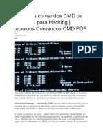 Todos los comandos CMD de Windows para Hacking