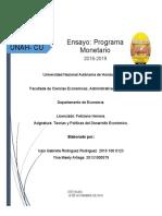 Ensayo Programa Monetario 2018-2019.docx