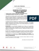 041 - MUESTRA FOTOGRÁFICA OJO DE LA AMAZONÍA EN PETROPERÚ