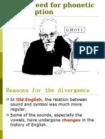 historia de IPA alphabet