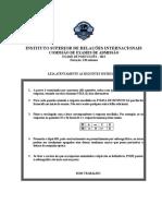 UJC Exame de admissao de Portugues 2012