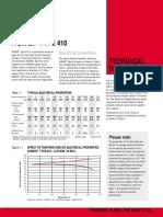 Nomex 410 Data Sheet