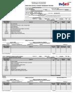 School Form 10 SF10-SHS Senior High School Student Permanent Record - Copy - Copy