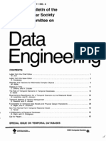 Special Issue Temporal Databases