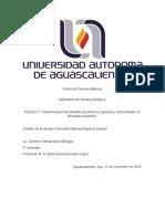 Determinación de tetraetilo de plomo en gasolina y otros metales en diferentes muestras