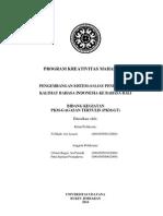PKM-GT-10-UNUD-Ari-Pengembangan Sistem Online Penerjemah Kalimat Bahasa Indonesia Ke Bahasa Bali