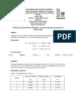Informe - Titulación de peróxido de hidrogeno