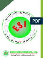 ESI Company Profile 2019
