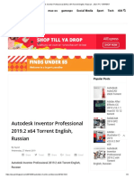 Autodesk Inventor Professional 2019.2 x64 Torrent English, Russian - JEUX PC TORRENT.pdf