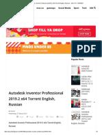Autodesk Inventor Professional 2019.2 x64 Torrent English, Russian - JEUX PC TORRENT.pdf