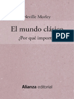 Morley Neville - El Mundo Clasico Por Que Importa