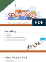 Raker bidang Marketing