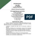 00 Programa Contabilidad III