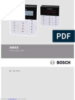 bosch amax_2100 USER MANUAL