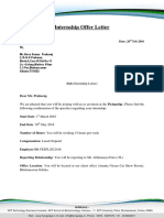 Hiren_Internship offer letter