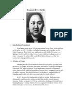 Biografi Dewi Sartika