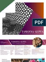 Tamanna Gupta Portfolio 2020