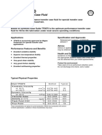 Shell Oil TF 0870 material data sheet
