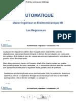 09 - AUTO Régulateurs