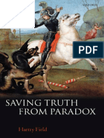 Hartry Field - Saving Truth From Paradox (2008)