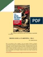Cronicas de Cuarentena Dia 2