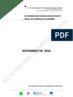 Perfil tipo do parado. Novembro  2010. Concellos