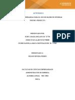 Estudio de caso empresarial matrices inversa