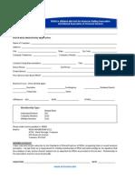 RISSA 2011 Membership Application
