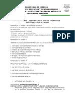 ACTIVIDADES DE LA SEGUNDA  NOTA PARCIAL 2020 -I SEMESTRE