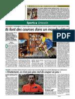 Version papier, édition La Montagne Brive du 19 mars