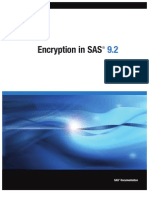 Encryption in SAS 9.2